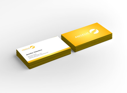 Angleic Cleaning Services Business Cards