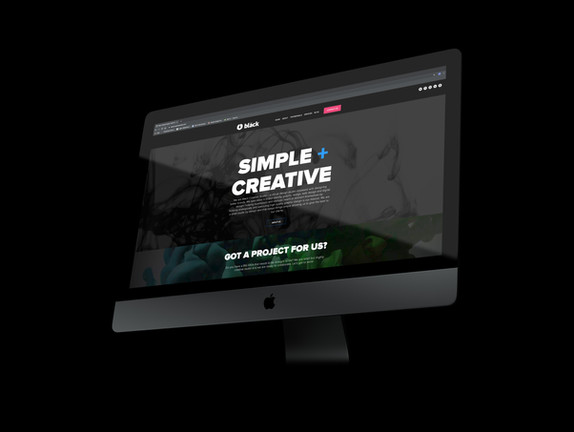 Black Creative Studio Website