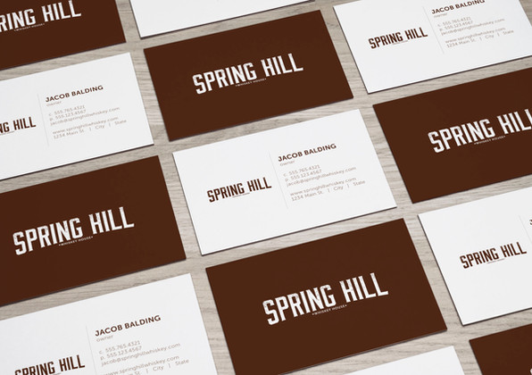 Spring Hill Business Cards