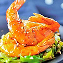 GAMBAS FLAMBEES