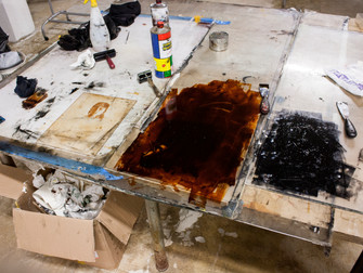 Invierno en Venice Print Making Studio, Venecia