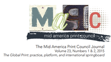 "En ""The Mid America Print Council Journal"""