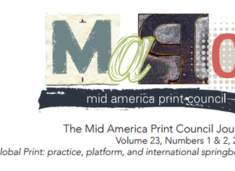 "En ""The Mid America Print Council Journal"""