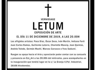 LETUM, EXPOSICIÓN EN EST_ART_SPACE