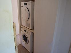 Miele warmtepomp droger.  miele wasmachine  gite la grange petits-fours Busserolles Frank 24360rijk
