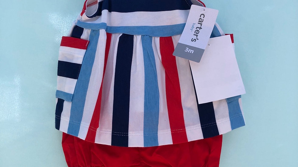 Size 3 months, two piece set, Carter's brand new