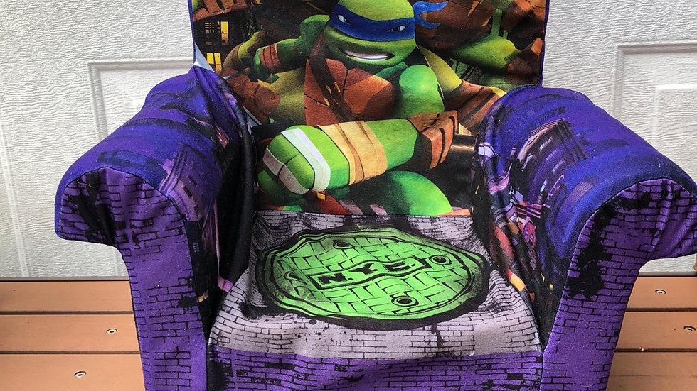 Ninja turtle chair purple