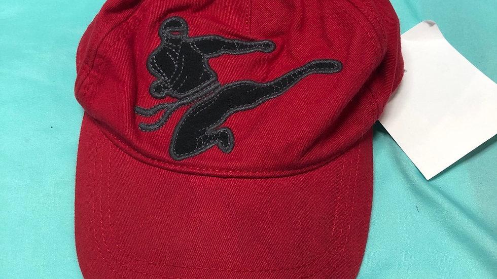Hat red ninja toddler size