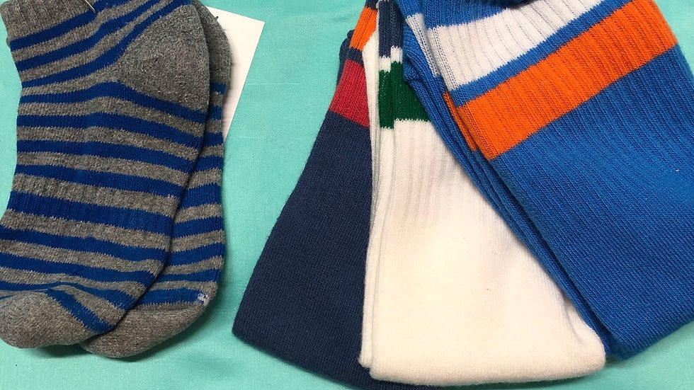 Gap brand new 3 pairs 1 ankle total 4 pairs socks size 3 to 4