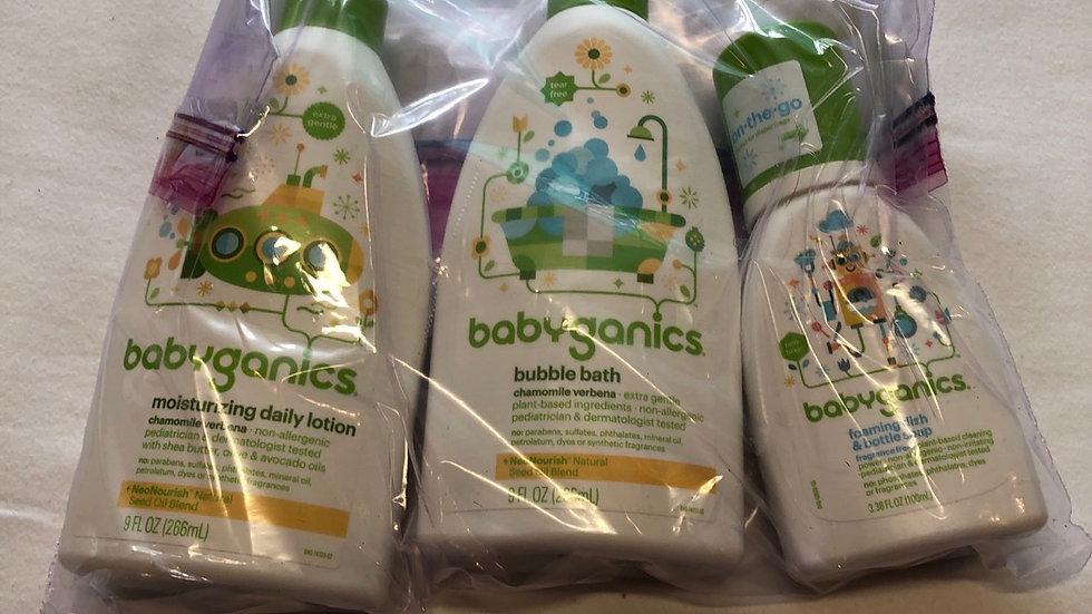 Brand new 3 babyganics