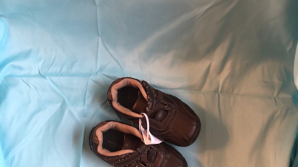Little kid size 9, Sonoma  brown shoes