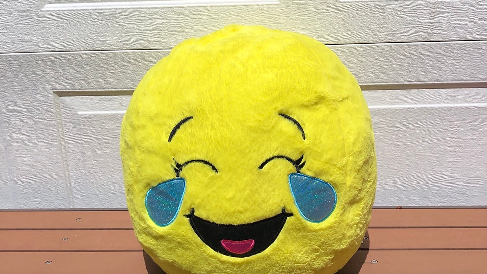 Emoji pillow from justice