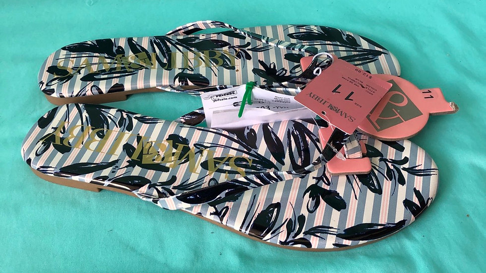 Women's size 11, Sam and Libby new with tag flip-flops