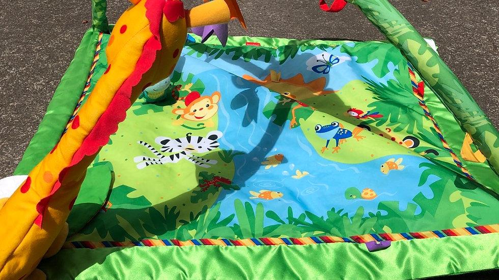 Fisher price jungle play mat