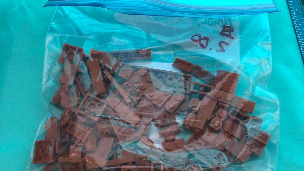 Brown legos