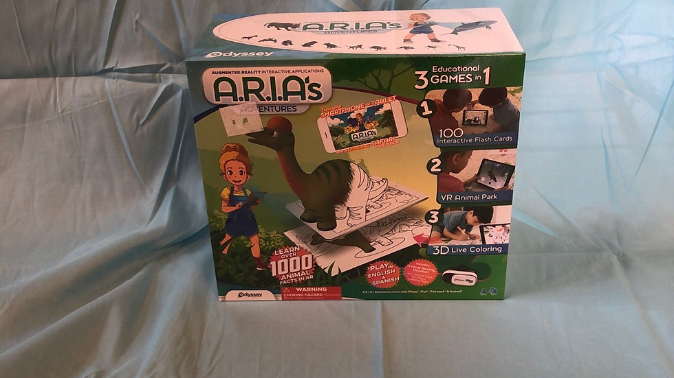 Odyssey A.R.I.A's Adventures set brand new in box retails for $19.99