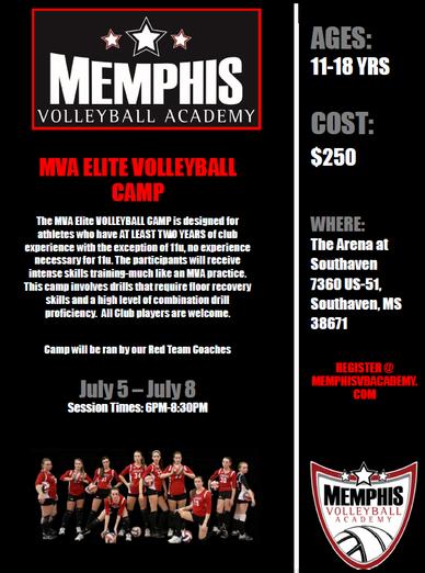 MVA Elite Volleyball Camp