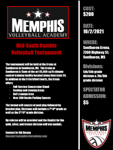 Mid-South Rumble Volleyball Tournament