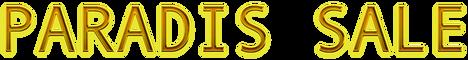 Cool Text - PARADIS SALE -35721243717620
