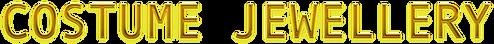 Cool Text - COSTUME JEWELLERY -357212259