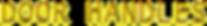 Cool Text - DOOR HANDLES -35721198988761