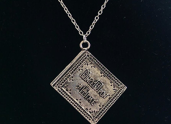 Once Upon A Time Book Necklace