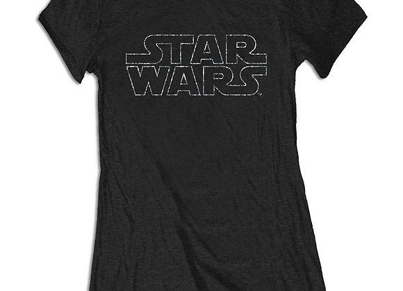 Star Wars Ladies T-Shirt With Rhinestones