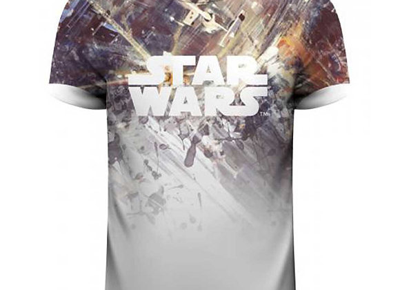 Star Wars Sublimated Tie Fighter Fight Official T-Shirt