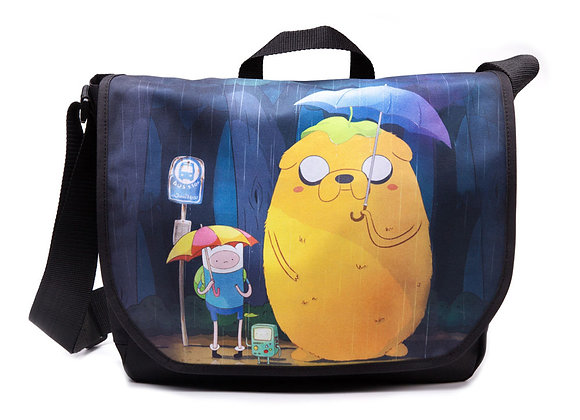 Adventure Time Totoro Design Officially Licensed Messenger Style Bag