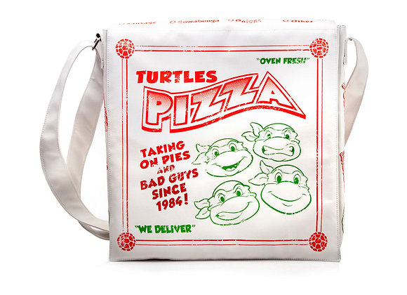 TEENAGE MUTANT NINJA TURTLES Pizza Box Messenger Bag