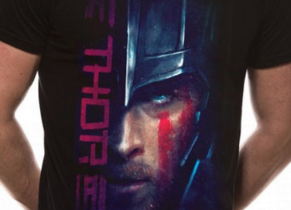 Thor Ragnarok Official Marvel T-Shirt
