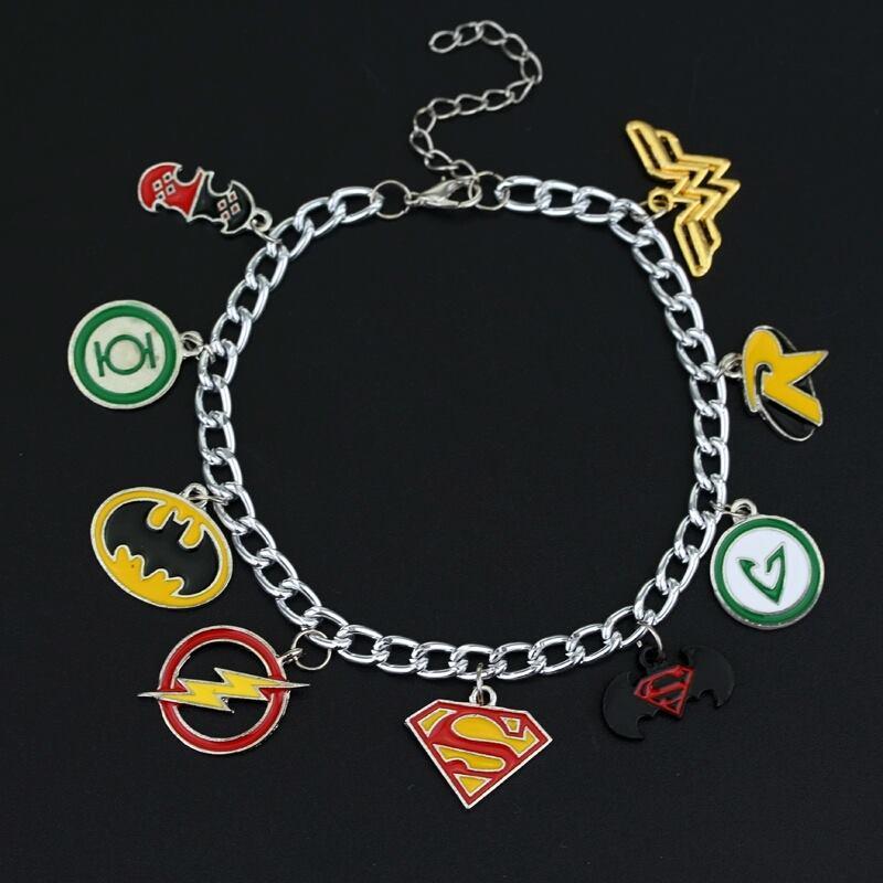 heroes charm bracelet