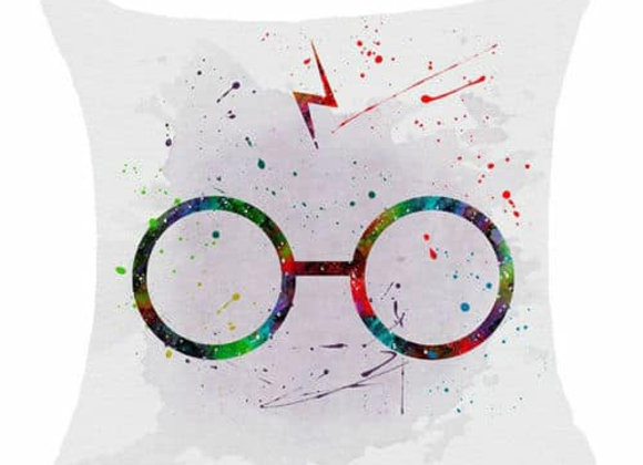 Harry Potter Glasses Design Cushion Cover