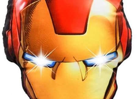 Marvel Iron Man LED Light Up Pillow