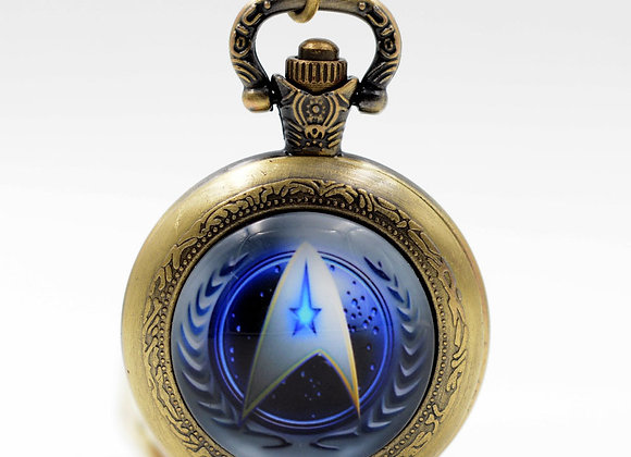 Star Trek Design Pocket Watch