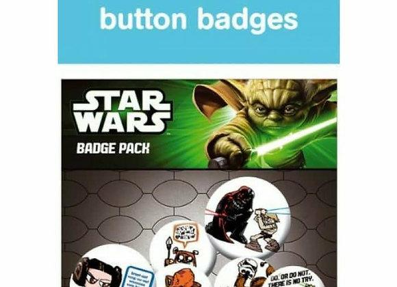 Star Wars Badge Set