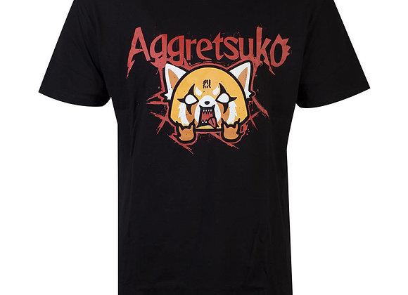 AGGRETSUKO Retsuko Rage Trash Metal T-Shirt