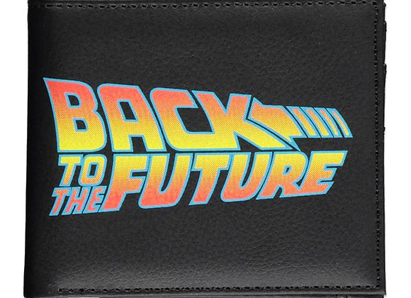 UNIVERSAL Back To The Future Logo Bi-fold Wallet,