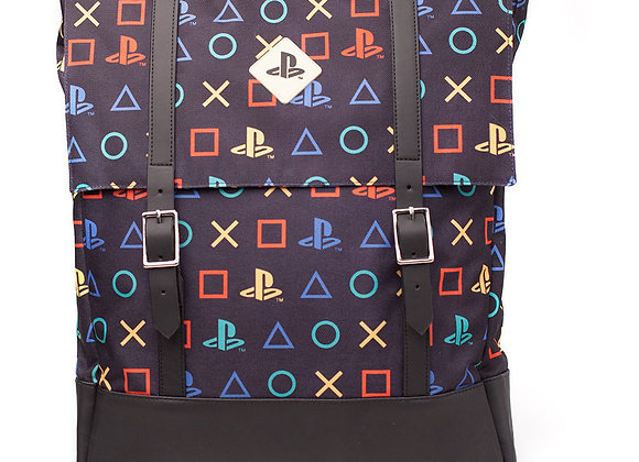 SONY Playstation Patterned Top-loader Backpack