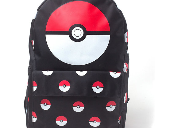 Pokemon All Over Pokeball Official Backpack