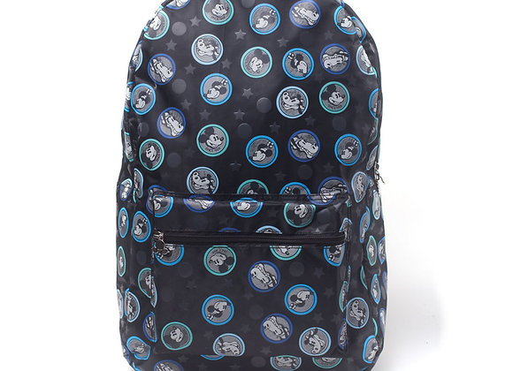 Official Disney Mickey Mouse All-over Mickey & Friends Print Backpack