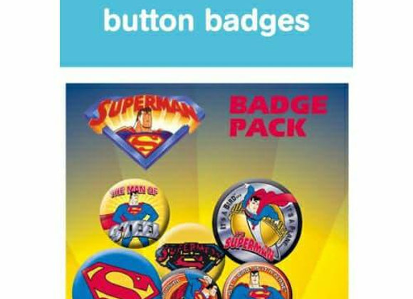 Supeman Badge Set