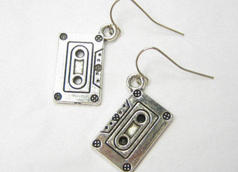 Retro Cassette Tape Earrings