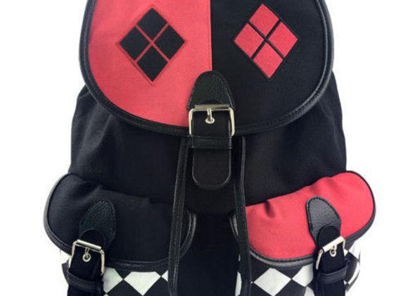 Harley Quinn Diamonds Knapsack Bag