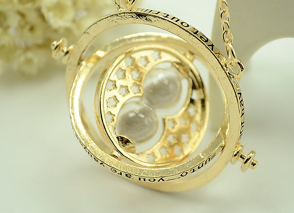 Time Turner Necklace Gold