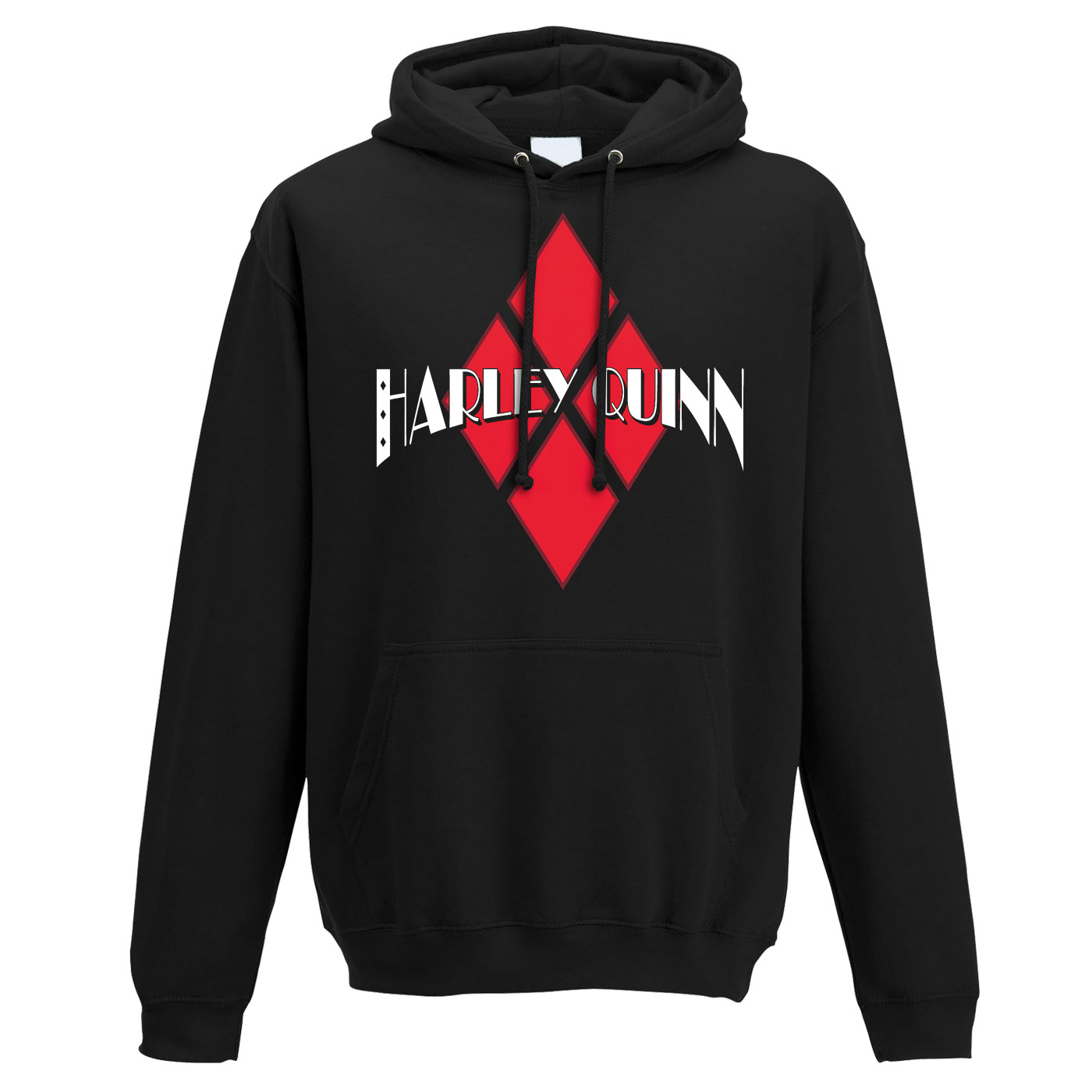 Hail The Villains Harley Quinn Hoodie
