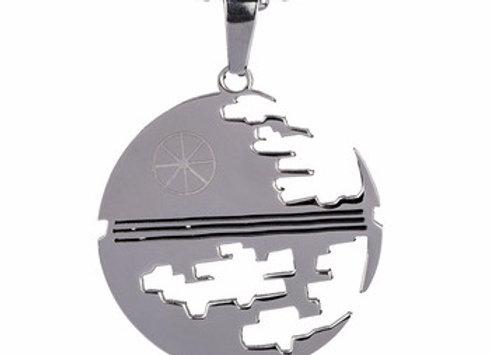 Star Wars Steel Deathstar Neckace