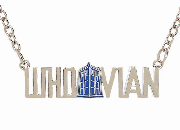 Dr Who - Whovian Necklace