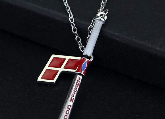 Harley Quinn Good Night Bat and Diamond Necklace