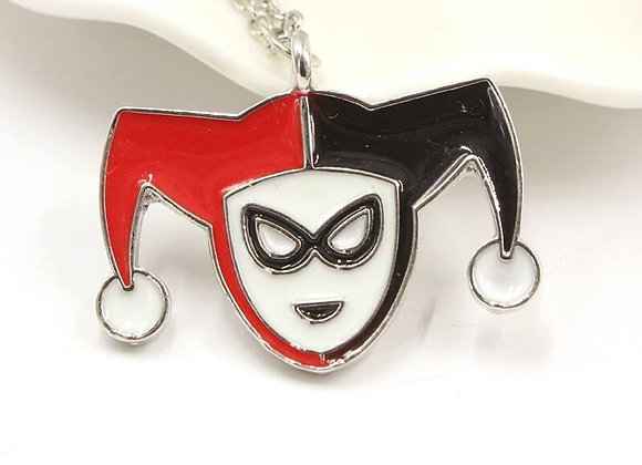 Harley Quinn Comic Necklace